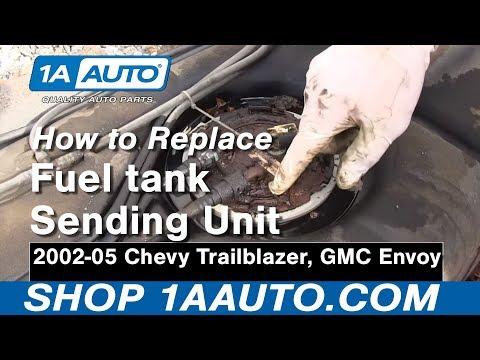 How To Replace Fuel Pump Sending Unit Module 02 04 Gmc Envoy Xl