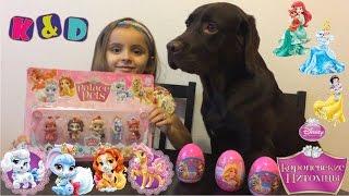 Королевские питомцы Disney Palace Pets яйца сюрпризы игрушки