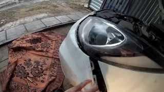 видео Задний бампер Хендай Солярис: последовательность демонтажа