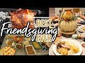 FRIENDSGIVING VLOG | 🎃🍗 THANKSGIVING 2019 RECIPES & PREP! | Cook Clean And Repeat