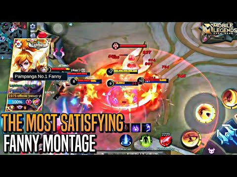 THE MOST SATISFYING FANNY MONTAGE BY OFFICIAL YASUO | MLBB
