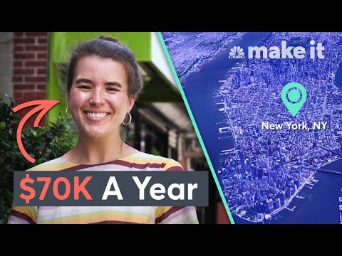 Living On $70K A Year In New York City | Millennial Money
