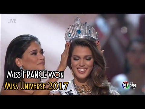 Miss FRANCE won Miss Universe 2017 | Miss Universo 2017 en Filipinas |  HD