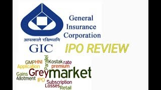 IPO General insurance corporation Review, allotment, Listing price and update