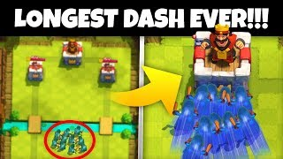 Have YOU SEEN The WORLDS LONGEST BANDIT DASH in Clash Royale!?