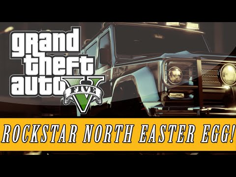 GTA 5: Easter Eggs | Rockstar North