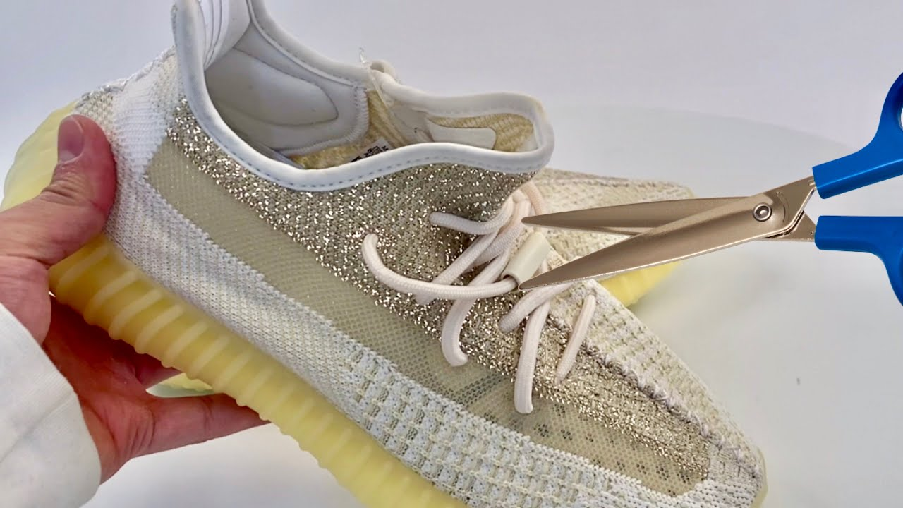 """Yeezy Boost 350 v2 """"Natural"""" - Why I need scissors"""