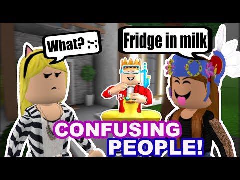 Confusing People On Bloxburg With Hypercookiie Doovi