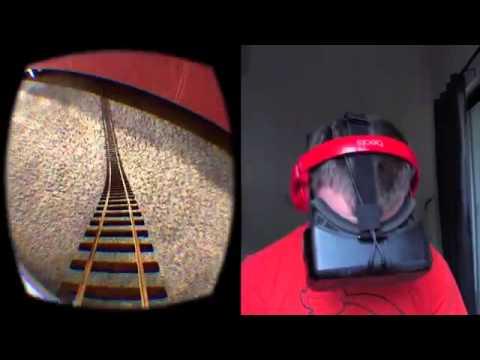 Oculus Rift DK2 lentes de realidad virtual