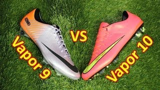 Nike mercurial vapor 9 vs vapor 10 - comparison + review