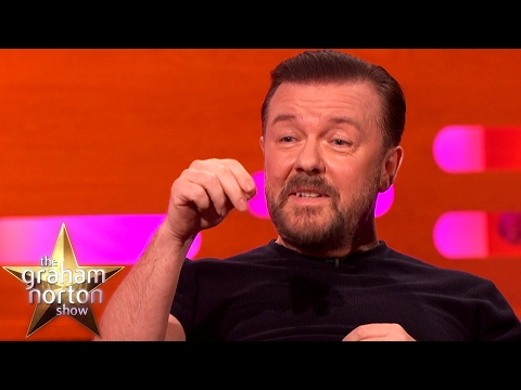 Ricky Gervais Had A Horrible Encounter With A Snakeskin  - The Graham Norton Show