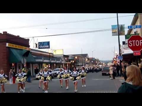 Arlington High School Band - Homecoming Parade - Oct 2013 - Arlington, WA