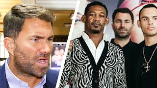 Eddie Hearn BLASTS VADA, NSAC & HAUSER over Jacobs vs Chavez Jr drug row