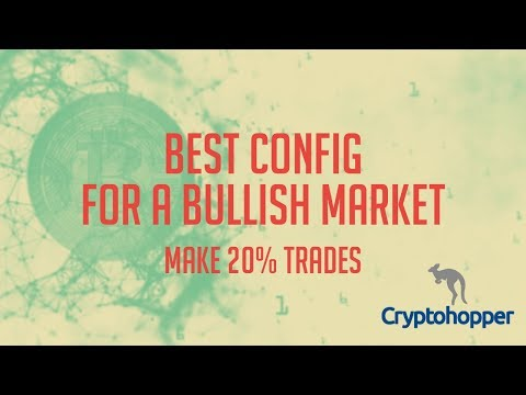 Making 20% Trades on Cryptohopper - The Best Config Settings I Have Found Yet - Crypto Trading Bot