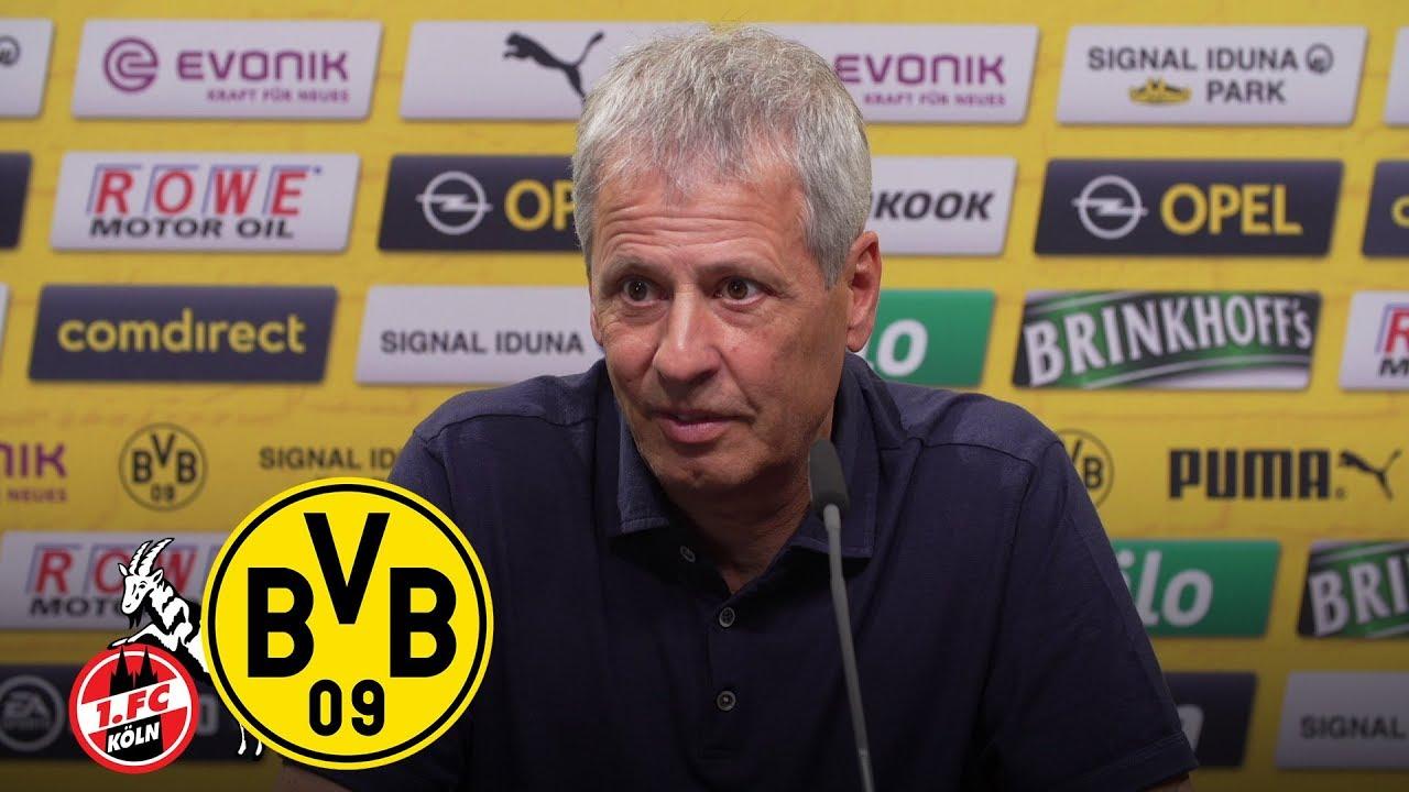 """Wir brauchen den nötigen Willen!"" | PK mit Lucien Favre | 1. FC Köln - BVB"