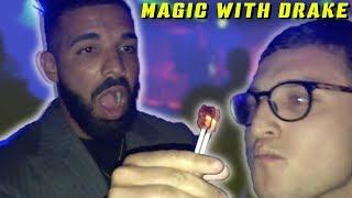 Drake reacts to magic ( Julius Dein Vlogs)