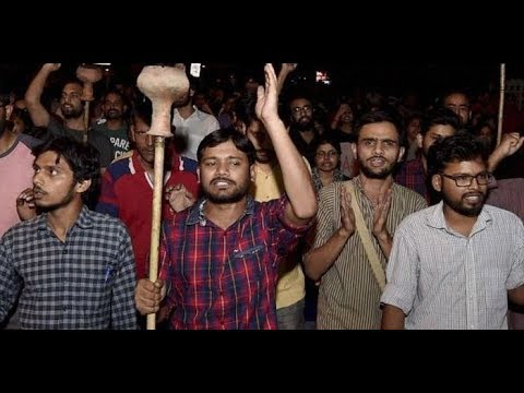 Protest against Compulsory Attendance, New Struggle in JNU.