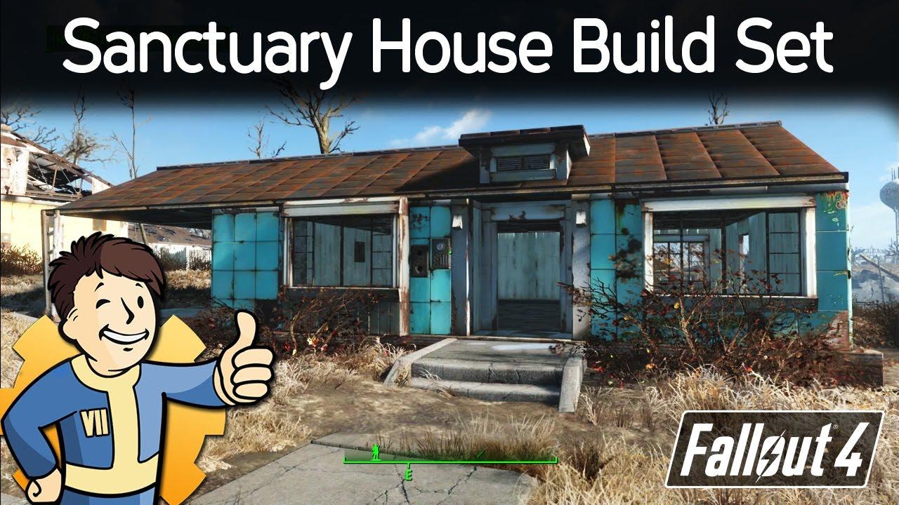 Fallout 4 Sanctuary House Build Mod Youtube