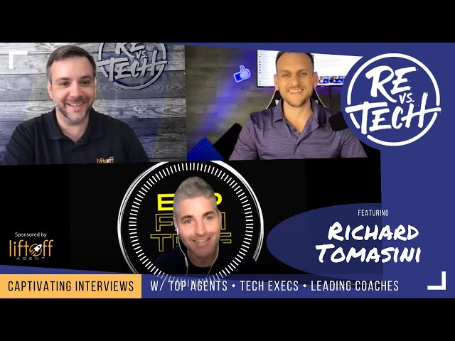 Richard Tomasini  - How To Build Wealth Through Real Estate and Retire Early | RE vs. TECH | Ep#83