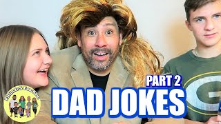 TRY NOT TO LAUGH CHALLENGE (DAD JOKES EDITION #2) | PHILLIPS FamBam CHALLENGES