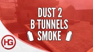 CS:GO Nade Spots - Dust 2, B Tunnels Retake Smoke