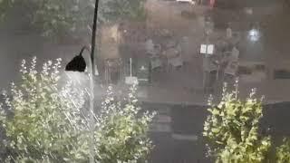Lluvia en León capital