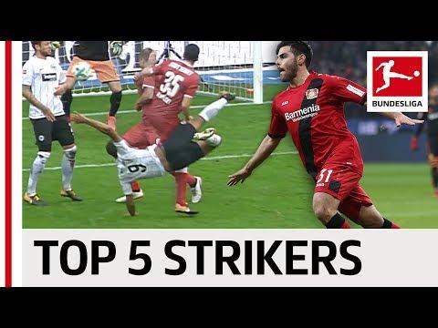 Top 5 Strikers So Far 2017/18 - Kalou, Volland, Finnbogason & More