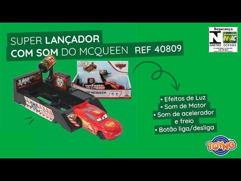Lançador com Som Carros (Disney Pixar) - REF 40809