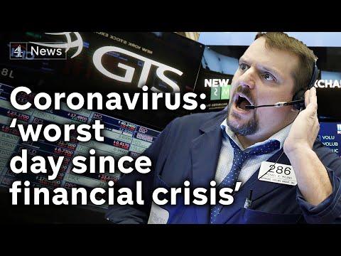 Coronavirus: Financial Markets Tumble As Death Toll Rises