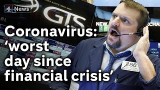 Coronavirus: Financial markets tumble as death toll rises