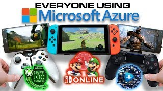 Everyone Streaming Games on Microsoft Azure | XCloud Playstation Now Nintendo on Azure | Stadia
