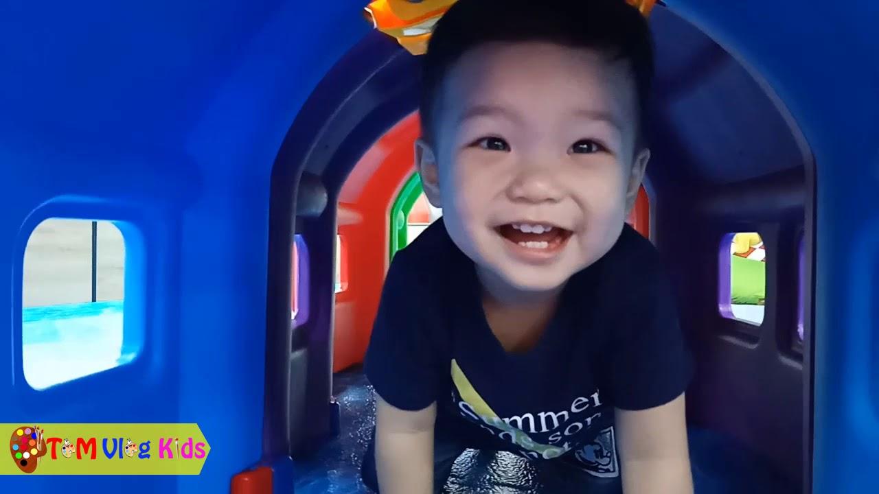 TOM Vui Chơi & Nhạc Thiếu Nhi |TOM Vlog Kids