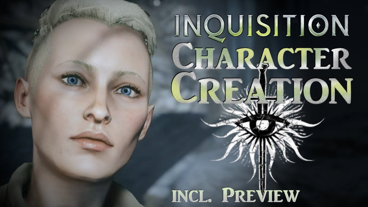 Dragon Age: Inquisition – How to Make a Hot Human ...