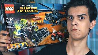 LEGO Бэтмен ЖАТВА СТРАХА - Набор На Обзор (76054)