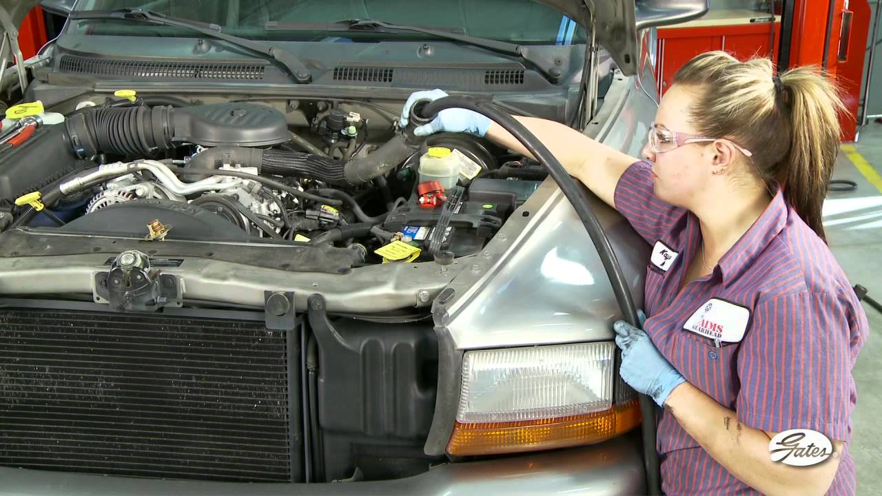 Detroit Wiring Diagram Gates Training Cooling System Flush Cleaning Neglected