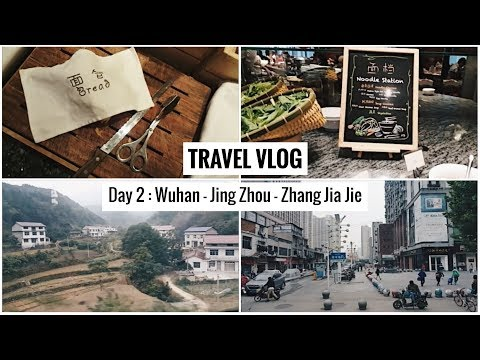 Travel Vlog | Day 2: Wuhan - Jing Zhou - Zhang Jia Jie | Food & View | Sparkling Niki