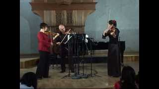Zoltan Kodaly -  Serenade for Two Violins and Viola, Op. 12 (2nd mvt: Lento, ma non troppo )