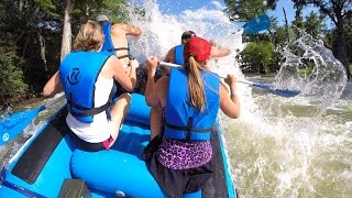 Whitewater Rafting Guadalupe River With Rockin R 2015