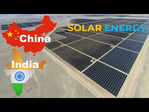 Largest Solar Power Plants In The World 2019