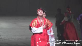 140118 해를 품은달 커튼콜 Kyuhyun
