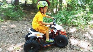 ? Kids ATV Shrink Ray Drone Delivery ? Power Wheels ATV ? Go Bowen Titan 24v ATV   12v Kids ATV