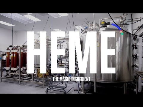 Heme - The Magic Ingredient in the Impossible™ Burger