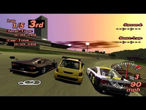 Gran Turismo 2 - Renault Espace F1 PS1 Gameplay HD thumbnail