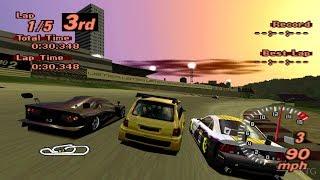 Gran Turismo 2 - Renault Espace F1 PS1 Gameplay HD
