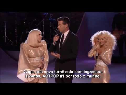 """[LEGENDA] Lady Gaga E Christina Aguilera Falam Sobre Colaboração No """"The Voice USA"""""""