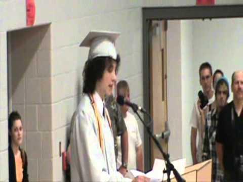 Fredericktown High School Class President Speech 2011 ...
