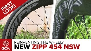 Reinventing The Wheel? NEW Zipp 454 NSW Wheels First Look