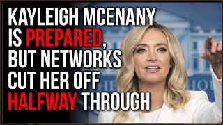 Kayleigh McEnany Press Briefing Is CUT At Most Pivotal Point