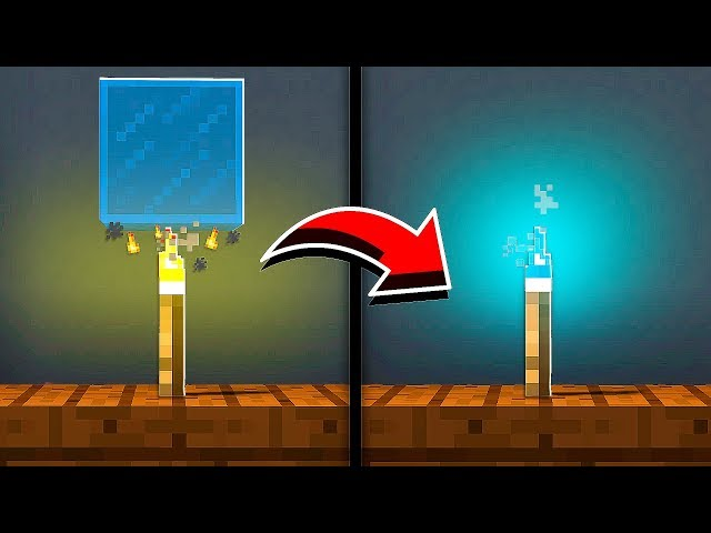 How to Make WORKING COLORED TORCHES in Minecraft! (NO MODS!)