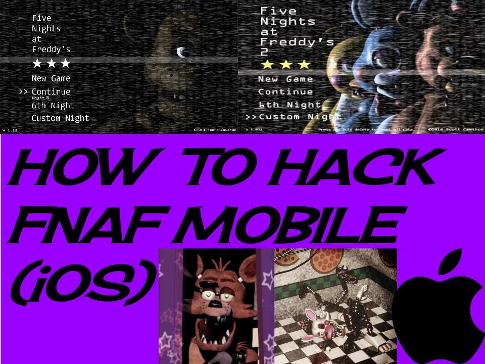 How To Hack Five Nights At Freddy's 1 & 2 iOS 8+ With iFunbox (NO JAILBREAK  REQUIRED)